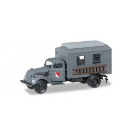 Herpa 745635 Ford 997 T box truck main telecomuunication XXI. Armeekorps Wehrmacht