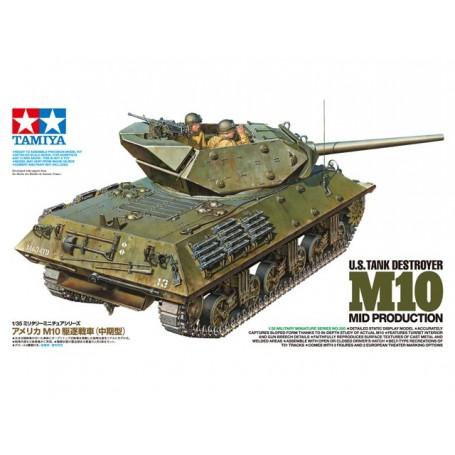 Tamiya 35350 Tanks US Tank Destroyer M10 Mid Prod