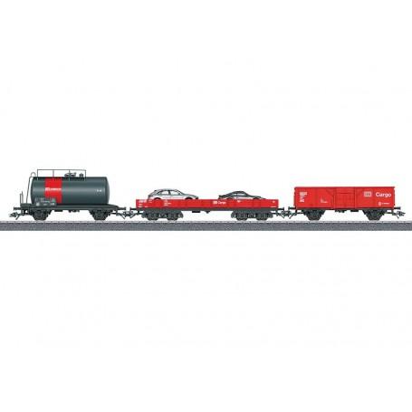 Märklin 44504 Vagnsset med 3 olika vagnar typ DB AG