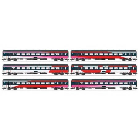 Märklin 42648 Vagnsset med 6 personvagnar typ NS
