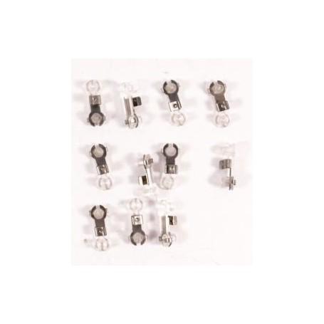 Märklin 7006 Isolering för luftledning, för märklins gamla luftledningssystem, 10 st