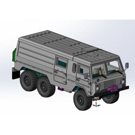 ArsenalM 119203031 Terrängbil Volvo C304 6x6, byggsats