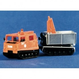 "ArsenalM 229100004 Bandvagn Hägglunds BV206D ""THW"", orange"