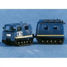 "ArsenalM 229100002 Bandvagn Hägglunds BV206D ""THW"", blå"