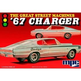 "MPC 829 Dodge Charger 1967 ""The Great Street Machines"""