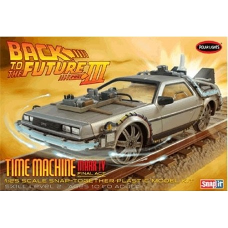 """Polar Lights 932 Back to the Future Part III """"Time Machine Mark IV - Final Act"""""""