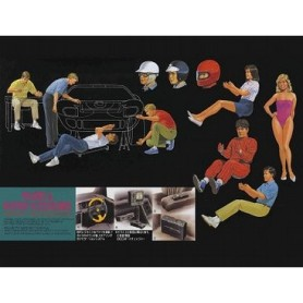 Fujimi 11040 Garage & Tools, figures and interior accessories