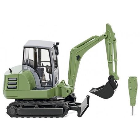 Wiking 65805 Mini excavator HR 18 - green