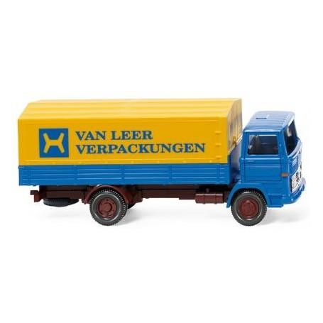 """Wiking 43701 Flatbed lorry (MB 1317) """"Van Leer"""""""