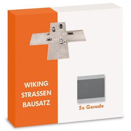 Wiking 119902 Roads kit - straight (5 pcs.)