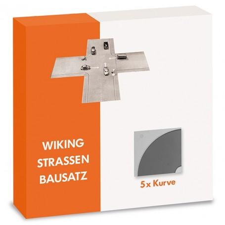 Wiking 119903 Roads kit - curve (5 pcs.)