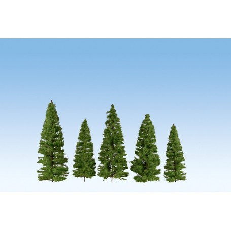 Noch 24511 Granar, 40 st, mediumgröna, 7-14 cm höga
