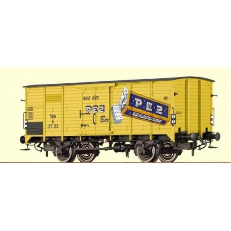 """Brawa 49057 Godsvagn G10 typ ÖBB 127 313 """"PEZ"""""""