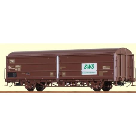 "Brawa 48977 Godsvagn Hbis typ DSB 44 86 225 0 003-2 ""SWS"""