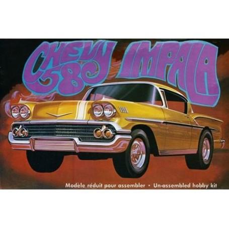 AMT 946 Chevrolet Impala 1958, gjuten i guld