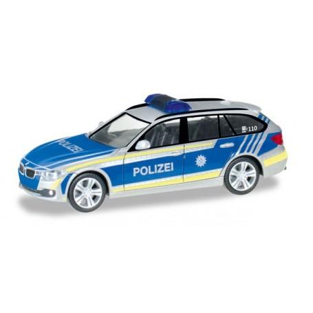 "Herpa 092746 BMW 3er Touring ""Police department Bayern"""