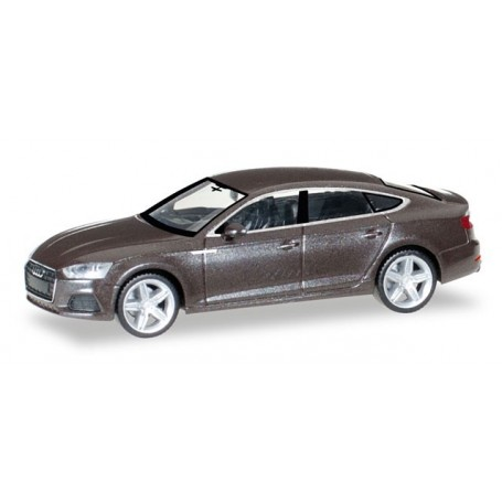 Herpa 038706 Audi A5 Sportback, Argusbrown metallic