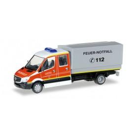 """Herpa 092791 Mercedes-Benz Sprinter `13 MZF """"Düsseldorf fire department"""""""