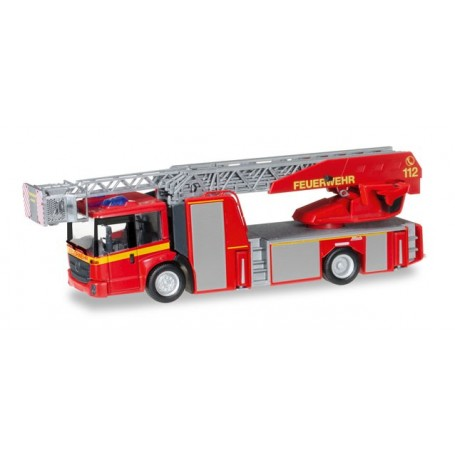 "Herpa 092777 Mercedes-Benz Econic Metz Drehleiter L32 XS ""Fire Department"""