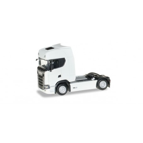 Herpa 306768 Scania CS20 HD rigid tractor, white