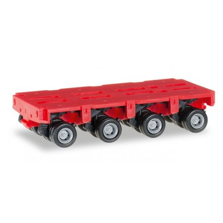 Herpa 053518.2 Goldhofer axles THP-SL 4a, red