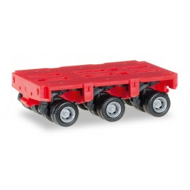 Herpa 053501.2 Goldhofer axles THP-SL 3a, red