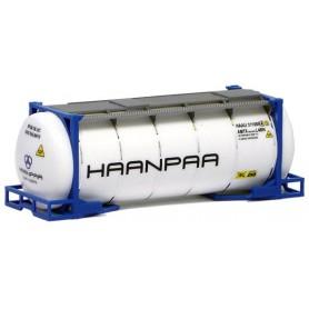 """Herpa 491235 Tankcontainer 20 fots """"Haanpaa"""""""