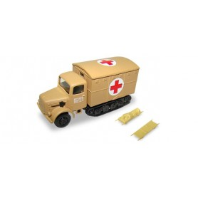 Herpa 745703 Magirus Maultier Red Cross incl. 2 stretchers