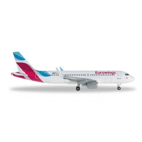 Herpa 528214.1 Flygplan Eurowings Airbus A320