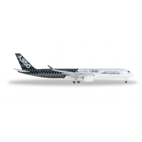 "Herpa 528801.1 Airbus A350-900 XWB ""Carbon color scheme"""