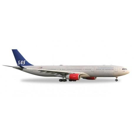 """Herpa 558303 SAS Scandinavian Airlines Airbus A330-300 """"Helge Viking"""""""