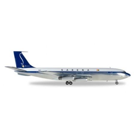 Herpa 558280 Flygplan Sabena Boeing 707-320