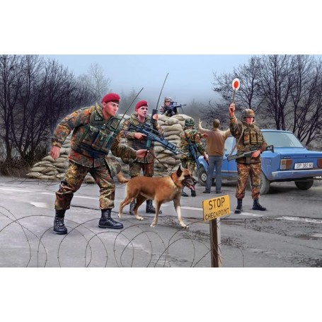 Revell 02522 Figurer German Army Crisis Reaction Forces