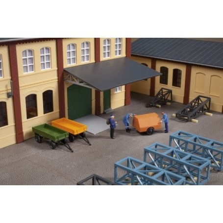 Auhagen 41642 Set of trailers