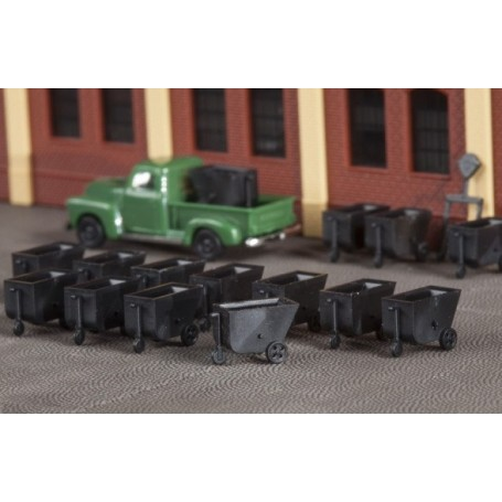Auhagen 44644 Mine cars
