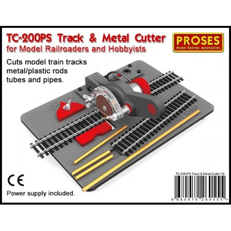 Proses TC-200-PS Track & Metal Cutter w/Power Supply