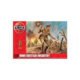 Airfix 01727 Figurer WWI British Infantry