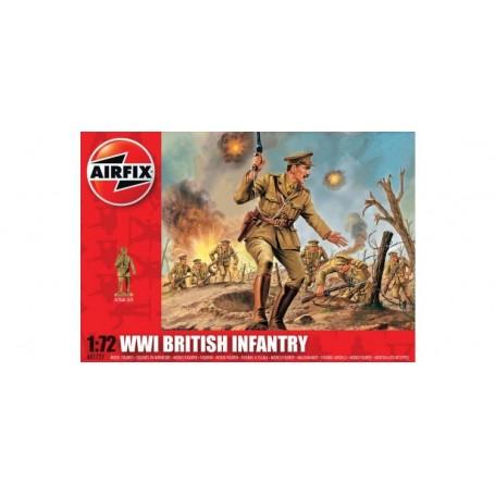 Airfix 01727 Figurer WWI British Infantry