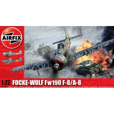 Airfix 02066 Flygplan Focke Wulf Fw190 F-8/A-8