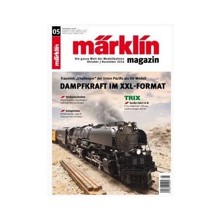 Märklin 269736 Märklin Magazin 5/2016 Engelska