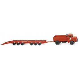 "Wiking 59002 Wagon-carrying road trailer Culemeyer (MAN) ""ÖBB"""