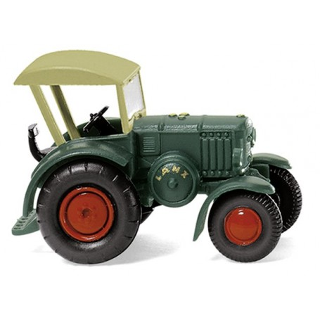 Wiking 95138 Lanz Bulldog with roof - green, 1936