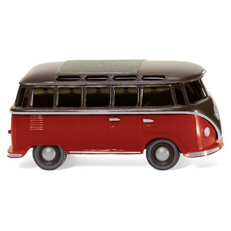 Wiking 31704 VW T1 Sambabus - brown/red, 1963