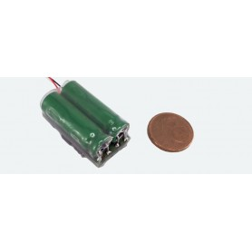 ESU 54672 PowerPack Maxi energy buffer for LokSound L V4.0, LokSound V4.0, 2x 5F/2.7V
