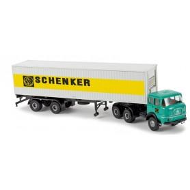 "Brekina 84123 Krupp SF 380 40ft Container ""Schenker"""