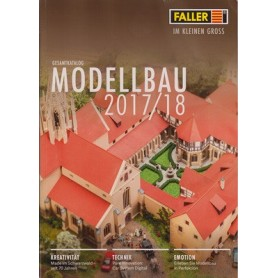Media KAT401 Faller Katalog 2017/18, engelska