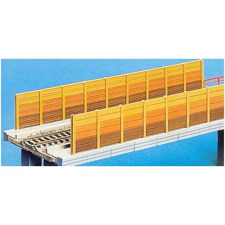 Noch 53541 Bullerplank för bro, 11 stolpar, 30 cm lång