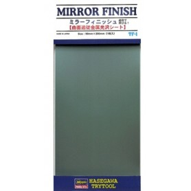 Hasegawa 71801 Mirror Finish (Material), mått 90 x 200 mm