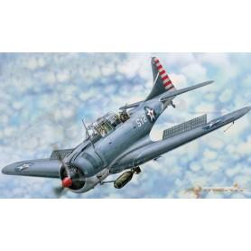 "Merit 61801 Flygplan SBD-3/4 ""Dauntless"" Dive Bomber"