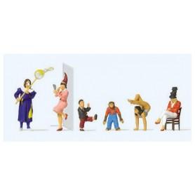 Preiser 20265 Cirkusartister, 6 st